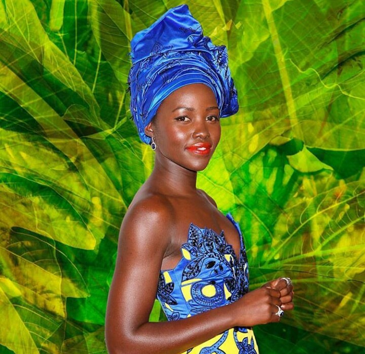 Head wrap,  lupita nyongo, how to tie a head wrap,